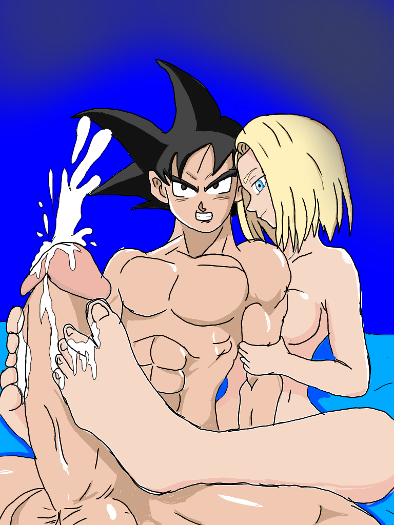 dragon super android ball 18 Samurai jack jack is naked
