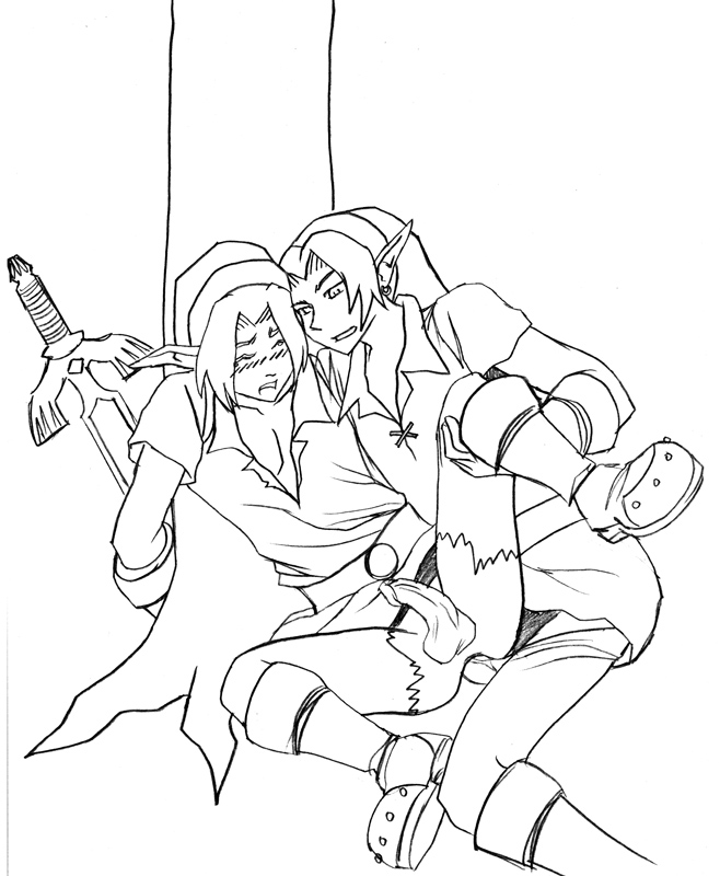 fanfiction x dark link link Left 4 dead zoey and witch