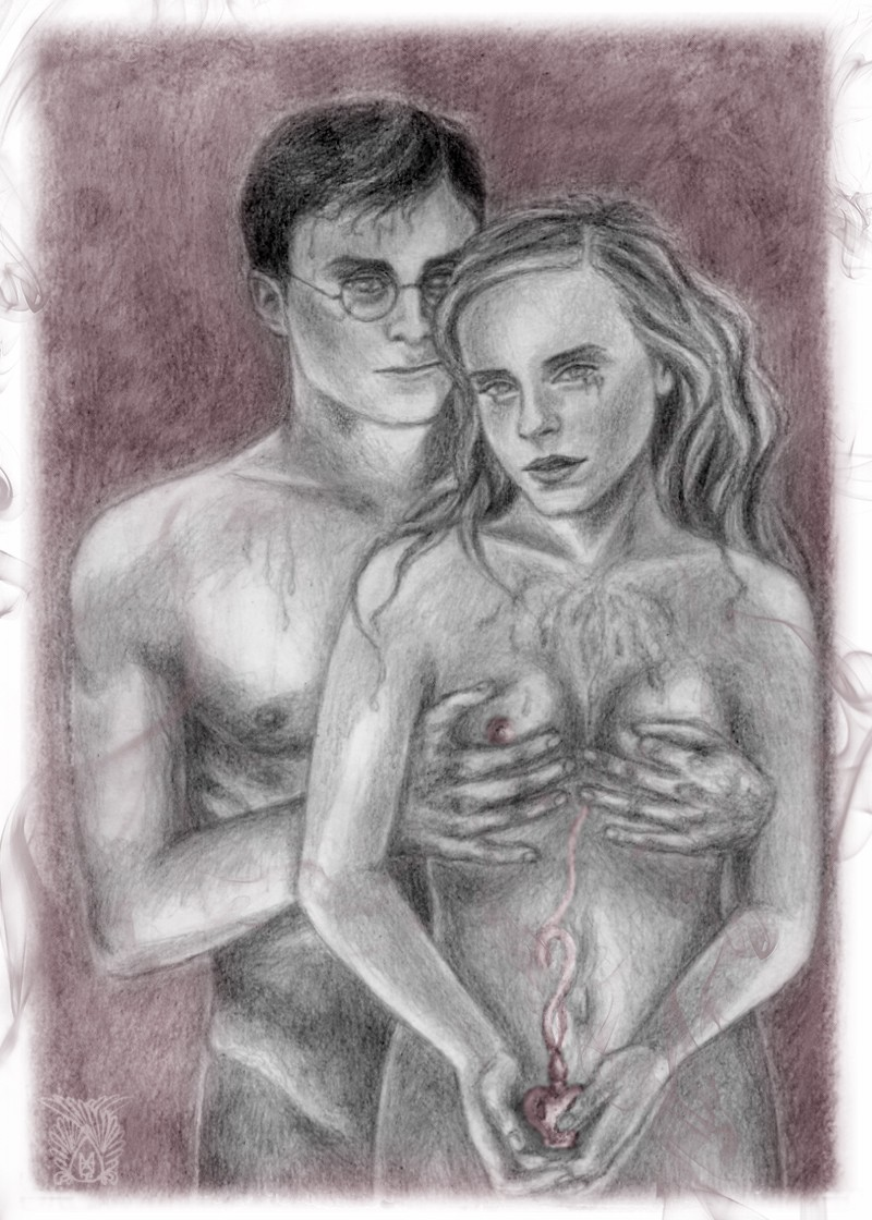 naked potter hermione harry from Me!me!me! hana