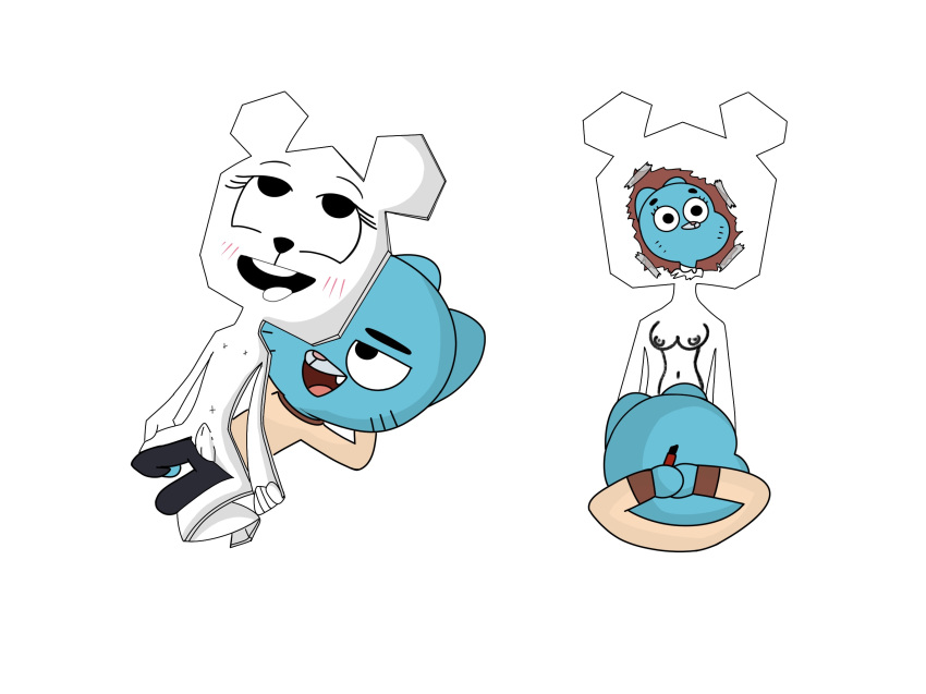 amazing gumball of teri world the Spookys jump scare mansion