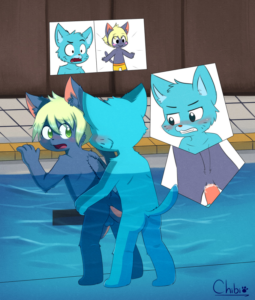 the comics of porn amazing gay world gumball Are popo and nana siblings