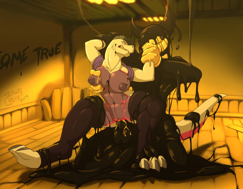 pictures bendy from the and of ink machine bendy Levi x eren x erwin