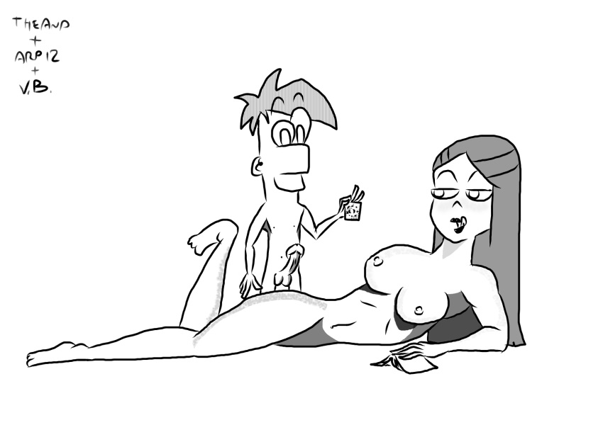 gretchen phineas and ferb on Clash of clans nude archer