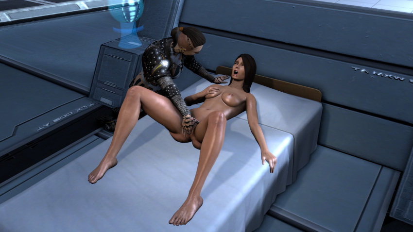 mass shepard lemon and effect fanfiction tali Rule number 34 of the internet website