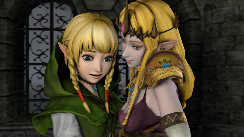 hyrule fairy warriors great Five nights at anime jumpscare