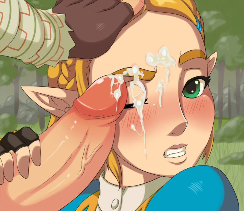 wood the elf mask wild of Super smash bros girl characters