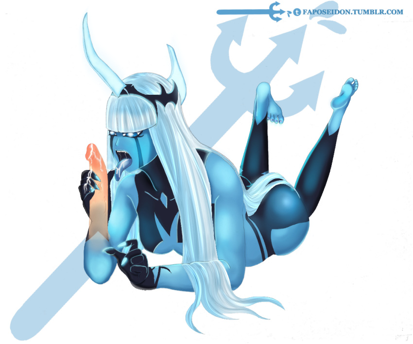 the comic teeth sharp girl with Land of the lustrous lapis